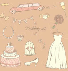 Weddingday vector image