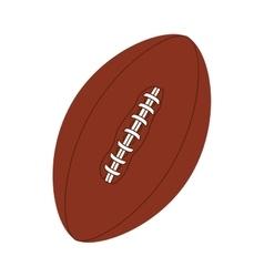football american ball icon vector image