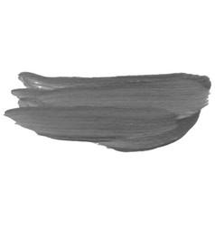 Acrylic or watercolor brush stroke vector