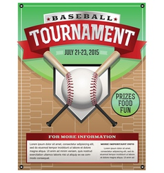 baseball tournament vector images over 5 100