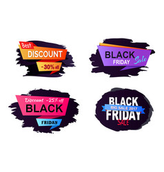 big sale 2017 black friday vector image
