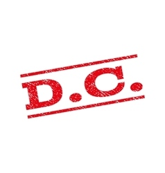 D c watermark stamp vector