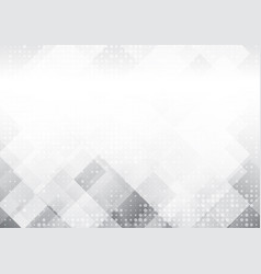 geometric gray and white color abstract vector image