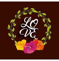 Love card icon design vector
