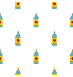 water bottle pattern seamless vector image