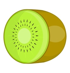 Kiwi icon cartoon style vector image vector image