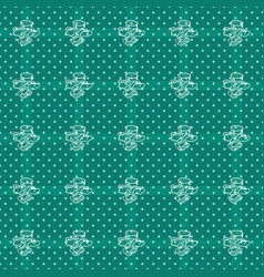 Abstract geometric seamless pattern vector