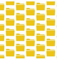 folder pattern background vector image