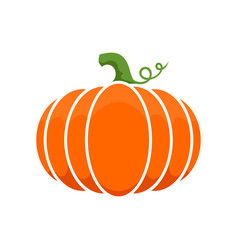 Logo and a pumpkin symbol for thanksgiving vector