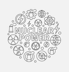 Nuclear power round vector