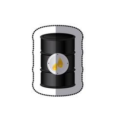 Oil tank icon stock vector