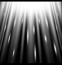 Rays of light from above white color vector