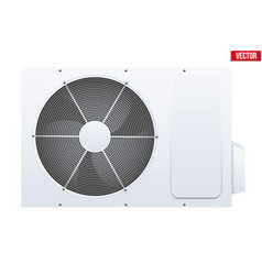 Split air conditioner system vector