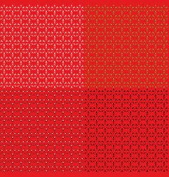 a set of backgrounds from strokes in the form of vector image vector image