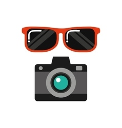 travel vacations set collection icons vector image