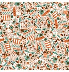 Ethnic seamless pattern vector image