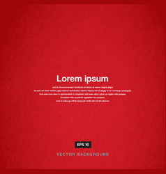 Background design texture old paper red vector