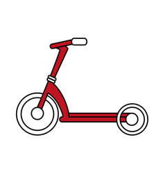 Bycicle flat vector