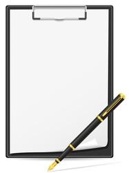 clipboard 03 vector image