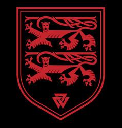 Knightly design viking design heraldic knight vector