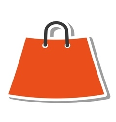 shopping bag market isolated icon vector image