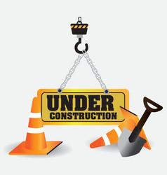 Under Construction vector