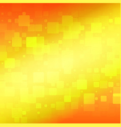 Yellow red orange rounded tiles background vector
