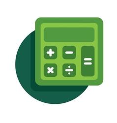 calculator icon vector image