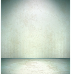 Abandoned room vector image vector image