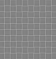 Black and white seamless floor pattern vector