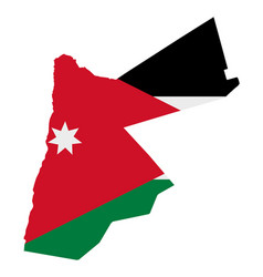Flag in map jordan vector