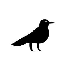 halloween crow icon vector image