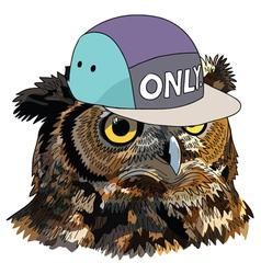 Owl Man vector