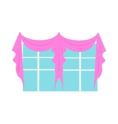 Wedding Decoration Element Window Decorated vector