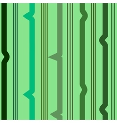 Zigzag green seamless pattern vector image