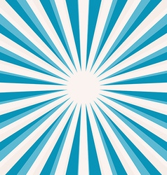 Abstract Blue Star Shaped Retro Background vector image