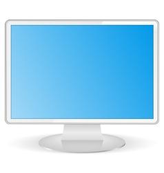 Computer Monitor vector image vector image