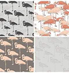 Flamingo Standing vector image