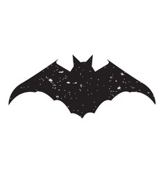 halloween slhouettes bat vector image