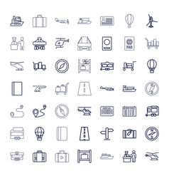 49 journey icons vector