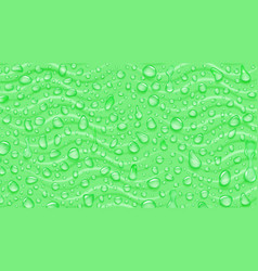 background waves and water drops vector image
