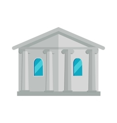 Building with Columns vector image vector image