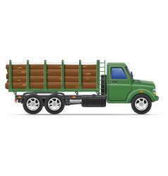 cargo truck concept 11 vector image