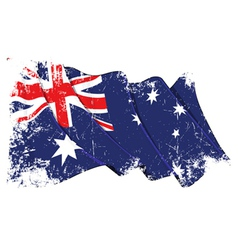 Grange Flag of Australia vector image