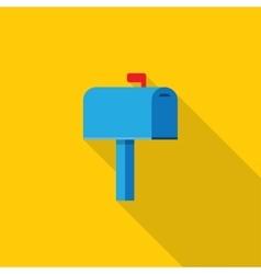 Mail box icon vector image