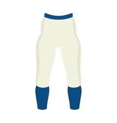 Pants american football sport icon vector