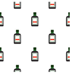 plastic bottle pattern seamless vector image
