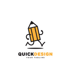 quick design vector image