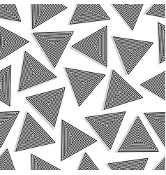 Seamless triangles vector
