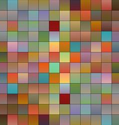 Colorful pixels 3 vector image